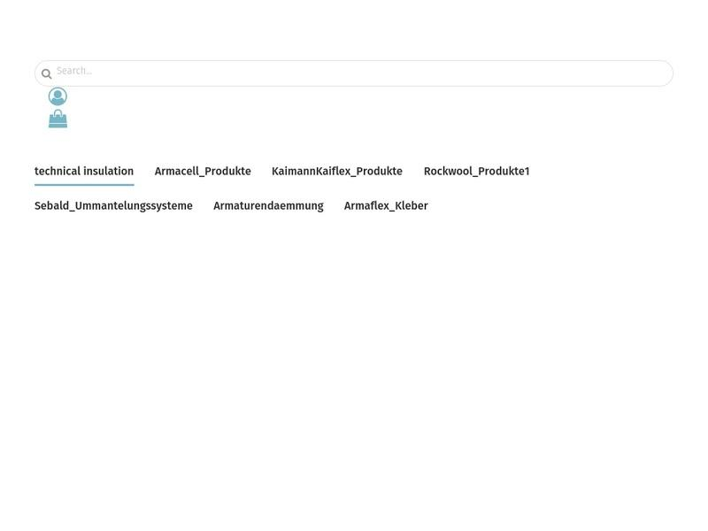 Screenshot von www.isolierladen.de